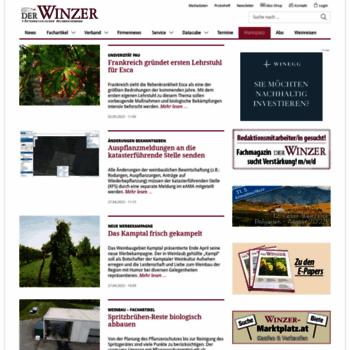 Der-winzer.at thumbnail
