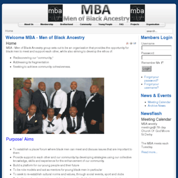 Derbymba.co.uk thumbnail