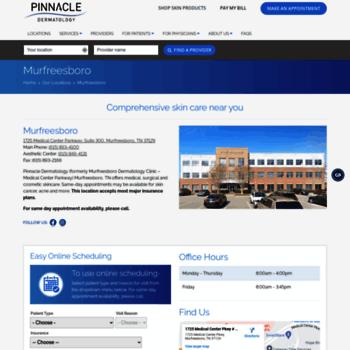 dermclinics com at WI  MDC Aesthetics Center - in