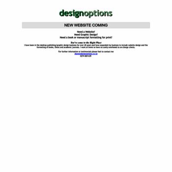 Designoptions.co.nz thumbnail
