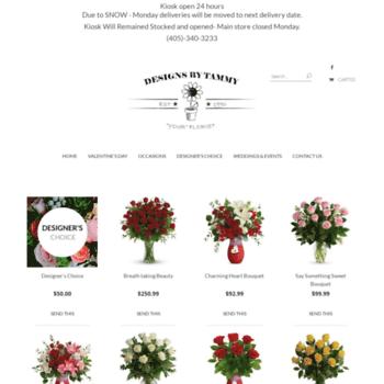 Designsbytammy.florist thumbnail