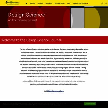Designsciencejournal.org thumbnail