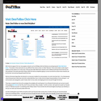 Desitvbox.co thumbnail