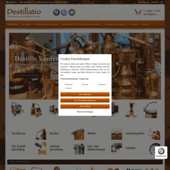 Destillatio.eu thumbnail