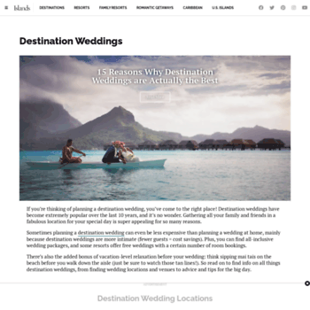 Destinationweddingmag.com thumbnail