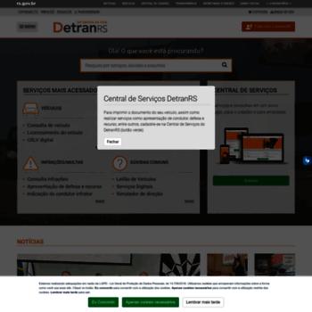 Detran.rs.gov.br thumbnail