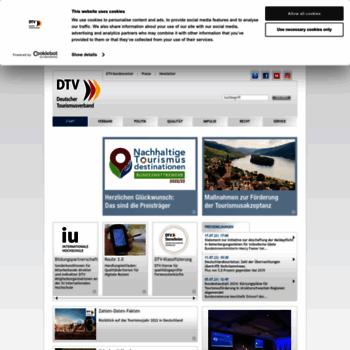 Deutschertourismusverband.de thumbnail