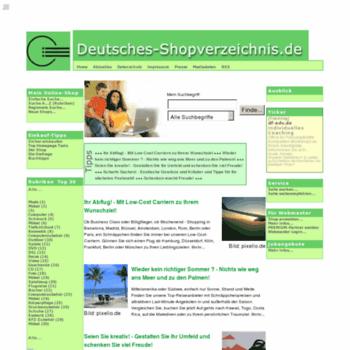 Deutsches-shopverzeichnis.de thumbnail