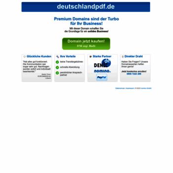 Deutschlandpdf.de thumbnail