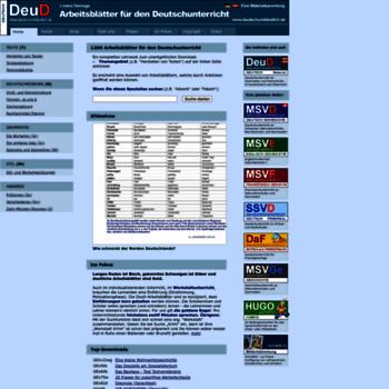 Deutschunddeutlichde At Wi Arbeitsblätter Deutsch Und Deutlich