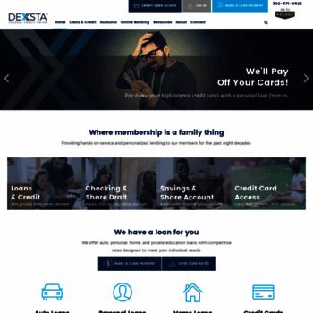 Dexsta Com At Wi Dexsta Federal Credit Union