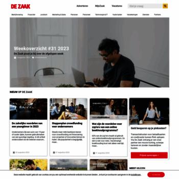 Dezaak.nl thumbnail