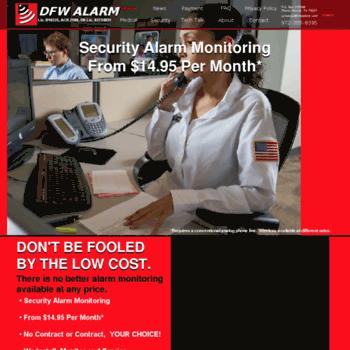 Dfwalarm.com thumbnail