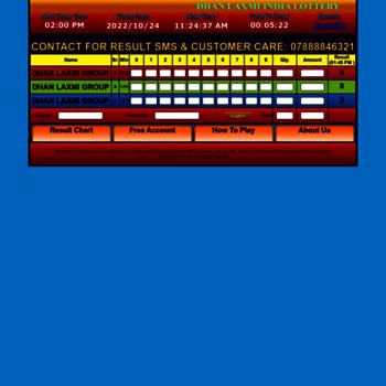 dhanlaxmiwin com at WI  Dhan Laxmi Lottery