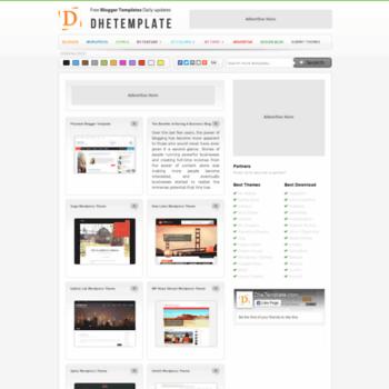 Dhetemplate.com thumbnail