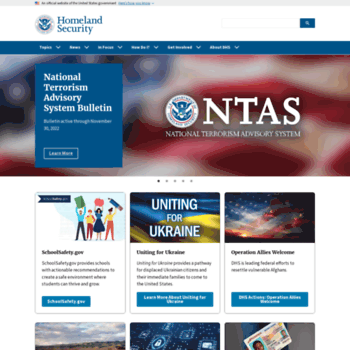 Dhs.gov thumbnail