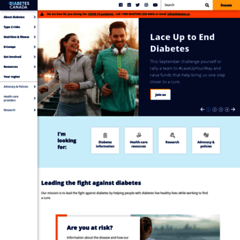 Diabetes.ca thumbnail