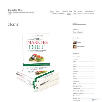 Diabetesdietblog.com thumbnail