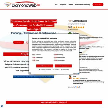 Diamondweb.de thumbnail
