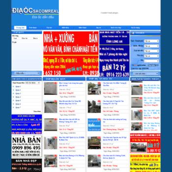 Diaocsacomreal.com.vn thumbnail