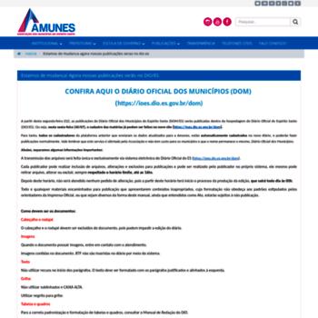 Diariomunicipales.org.br thumbnail