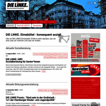 Die-linke-eimsbuettel.de thumbnail