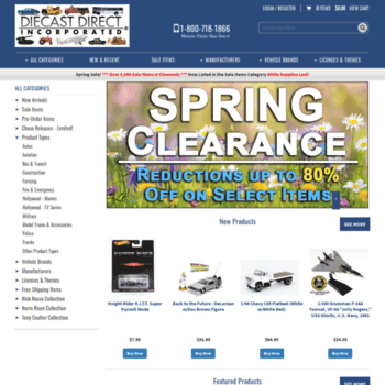 diecastdirect com at WI  Diecast Direct, Inc  - Your Source for