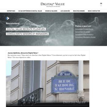 Digitalvalue.fr thumbnail