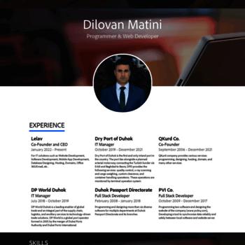 Dilovan.net thumbnail