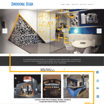Dimensionaldesign.net thumbnail