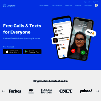 dingtone me at WI  Unlimited Free Calling & Texts App, Free