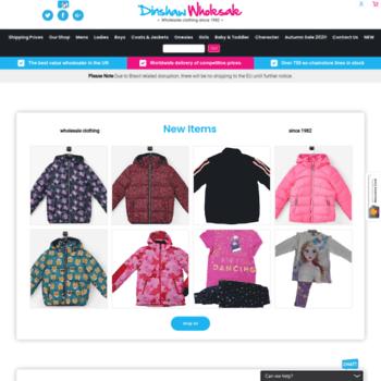 Dinshaw-wholesale.com thumbnail