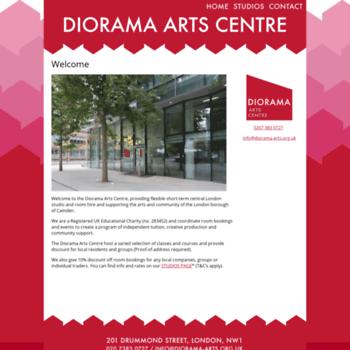 Diorama-arts.org.uk thumbnail