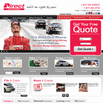 Direct General Auto Insurance >> Direct General Com At Wi Car Insurance Motorcycle