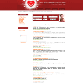 free dating site directory