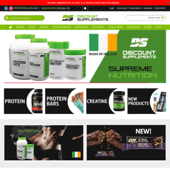 discountsupplements ie at WI  Sports Nutrition Supplements