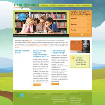 Discovery-language.com thumbnail