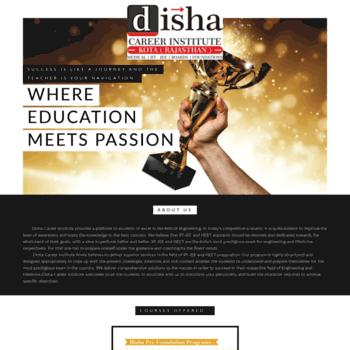 Dishacareerinstitute.in thumbnail