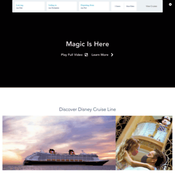 Disneycruise.disney.go.com thumbnail
