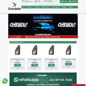 Distribuidoragranderio.com.br thumbnail