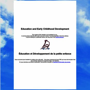 District17.nbed.nb.ca thumbnail