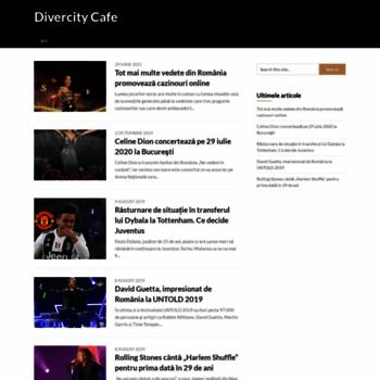 Divercitycafe.ro thumbnail