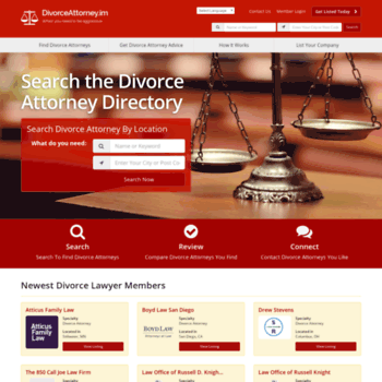 Divorceattorney.im thumbnail