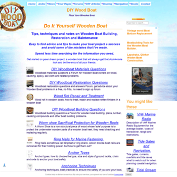 Diy Wood Boatcom At Wi Wooden Boat Building Restoration And