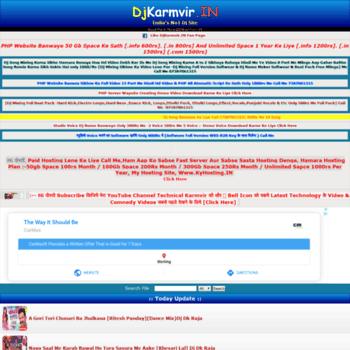 djkarmvir in at WI  DjKarmvir IN | Djkarmvir |New Bhojpuri