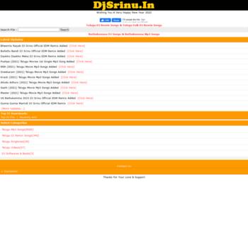 💌 Dj srinu telugu movie mp3 songs | Telugu Folk DJ Mix