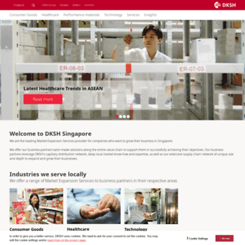 dksh com sg at WI  DKSH Singapore Pte Ltd Home page