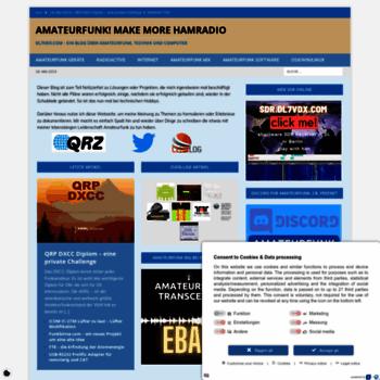 dl7vdx com at WI  DL7VDX com - Ein Blog über Amateurfunk