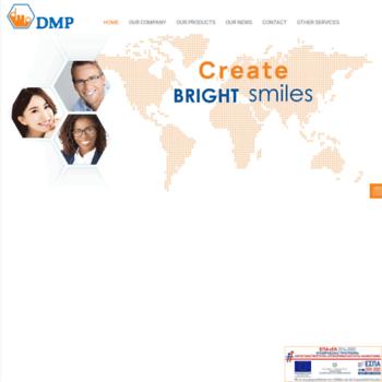 dmpdental com at WI  DMP manufacturer of Dental Materials