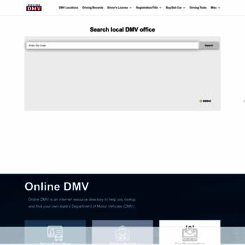 Dmv-department-of-motor-vehicles.com thumbnail
